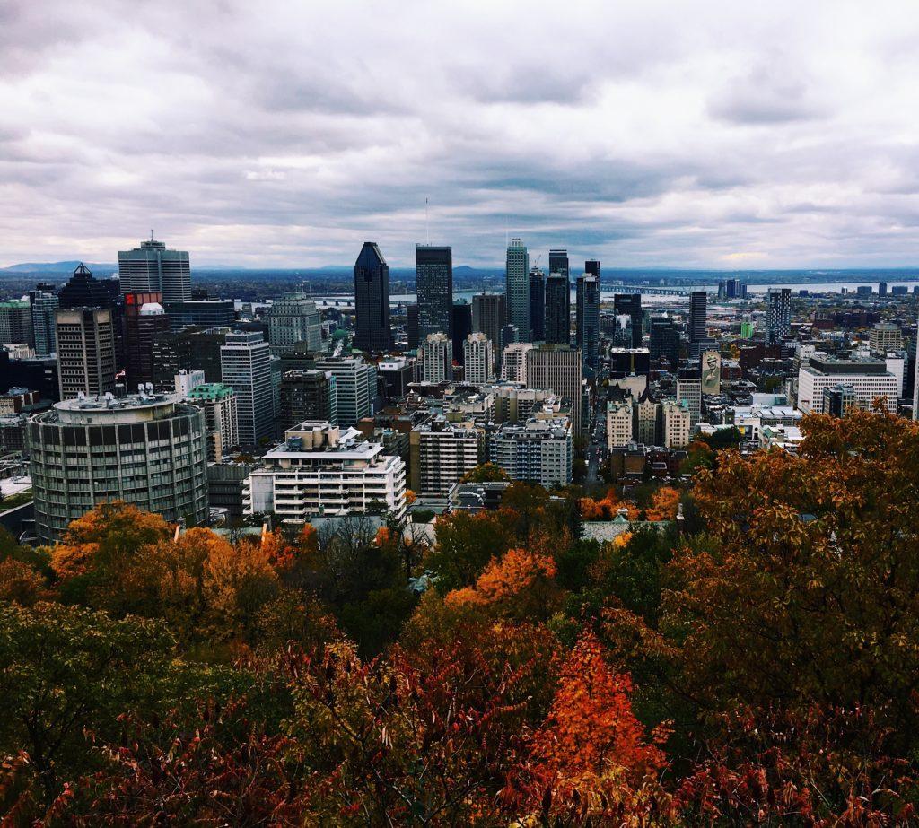 vue mont-royal Montréal